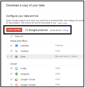 How to Import Google Takeout to Gmail or G Suite