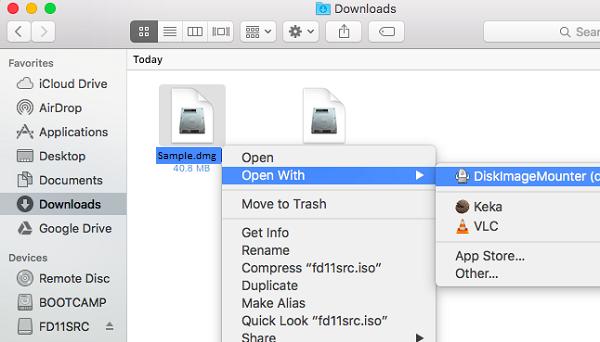 disk image mounter