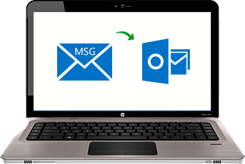 convert msg files into pst