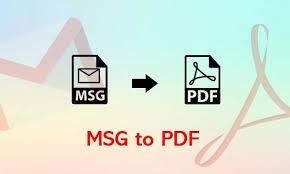 msg to pdf