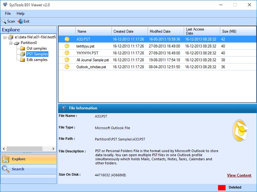 E01 Viewer Freeware Standalone Tool To Open Read E01 File