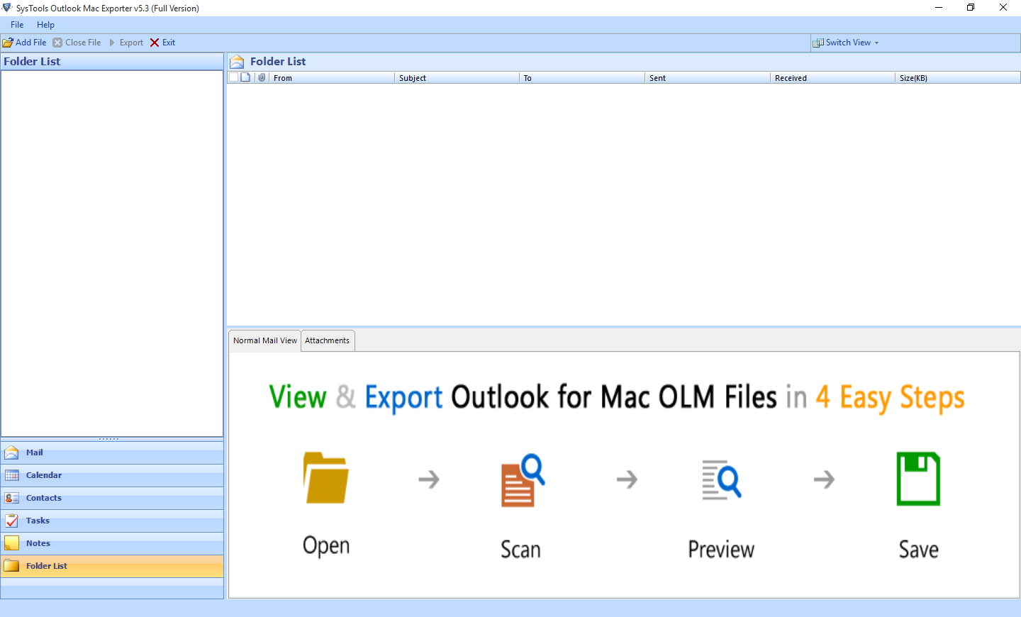 outlook mac olm to pst Converter tool